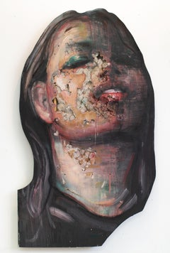 3D Portrait Painting of Woman: 'The Wanders III'