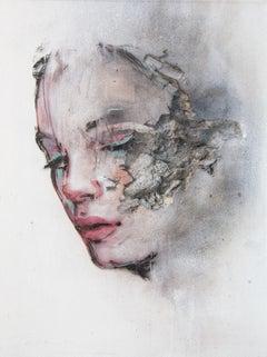 3D Portrait Painting of Woman: 'Wounds CCLII'