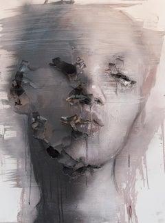 3D Portrait Painting: 'Wounds CCXXXIX'