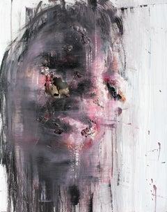 3D Portrait Painting: 'Wounds CXLII'