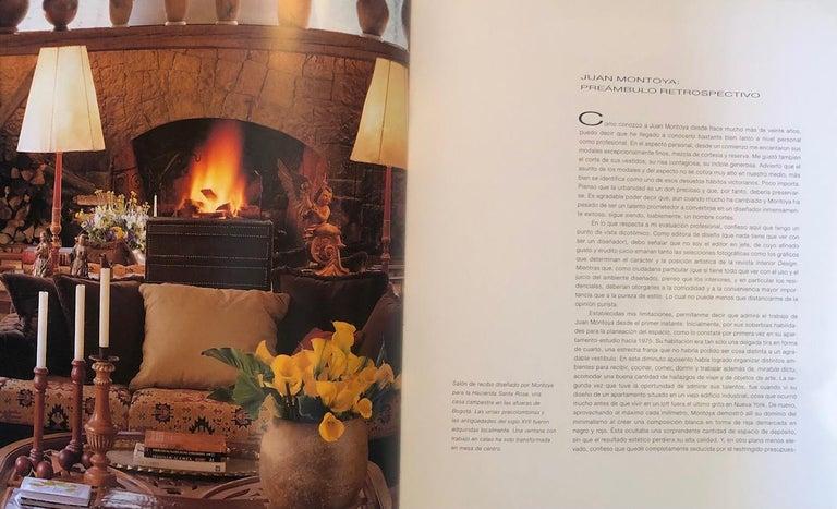 Paper Juan Montoya Design Book-Spanish Edition Signed For Sale