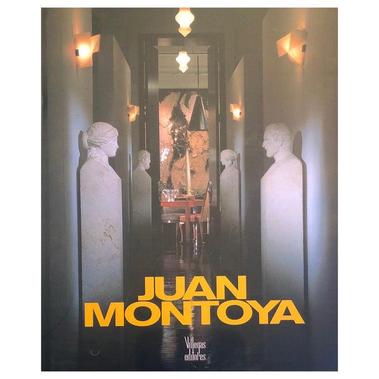 Juan Montoya Design Book-Spanish Edition Signed For Sale