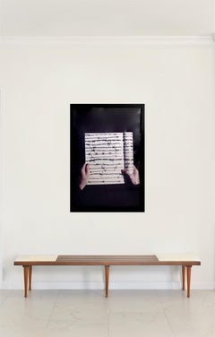 """Letters To My Mother"", One of a kind Photograph, Framed, 1998"