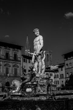 Firenze. Black and white limited ed print. M