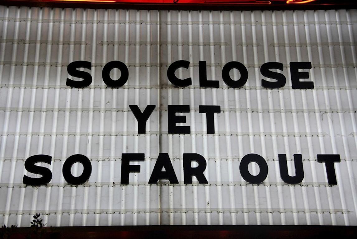 """So Close Yet So Far Out"", Medium Color Photograph, 2014"