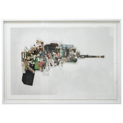"Juanma Reyes ""Pistola I"" Mixed-Media Photography, Spain, 2014"