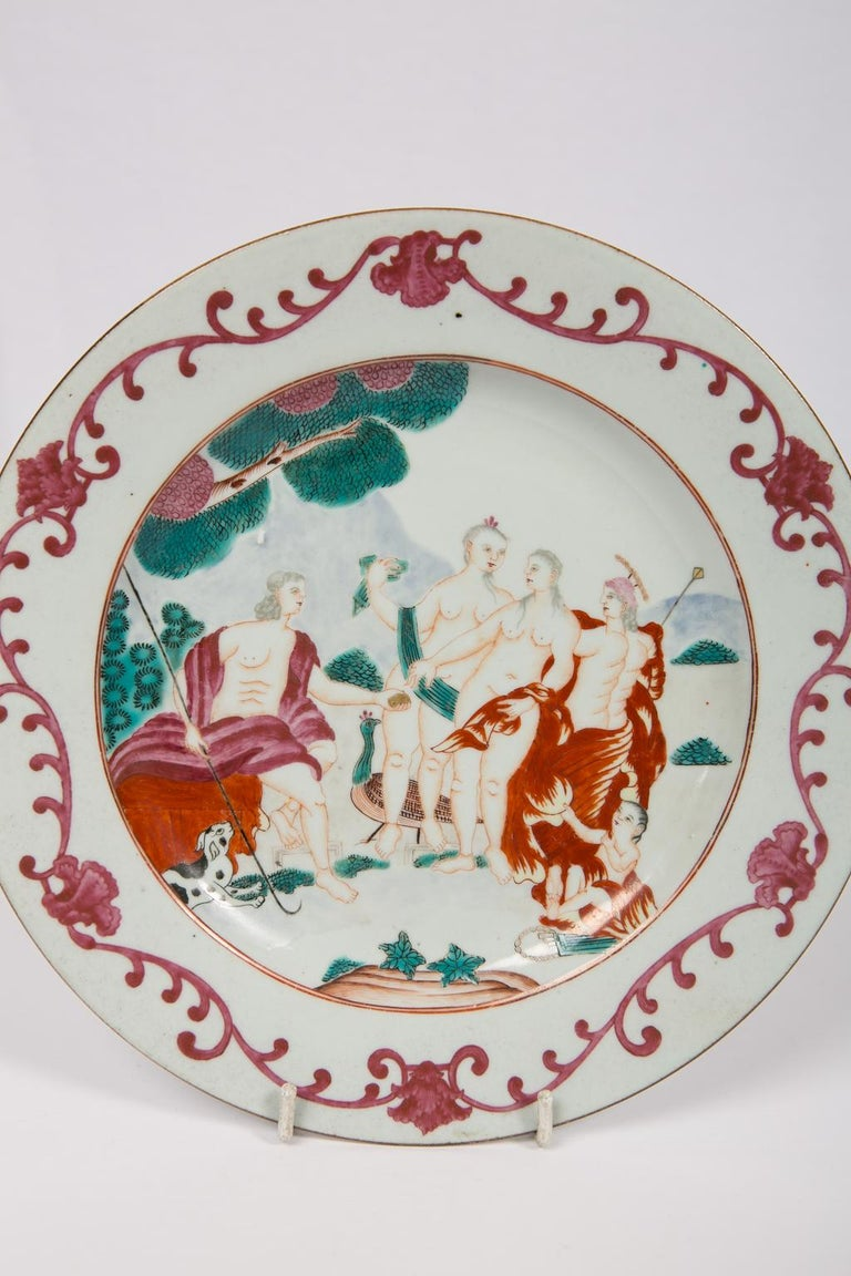 Judgment of Paris Chinese Export Plate For Sale 1