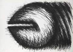 Big Horizontal, Lithograph by Judith Bernstein