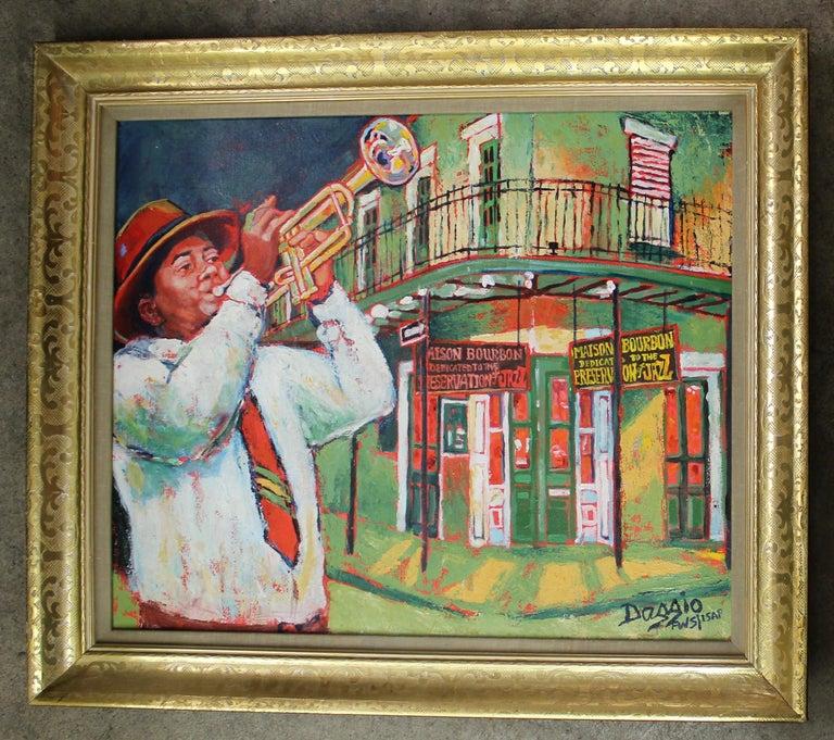 Judith Dazzio (American born 1942) Size with frame 29