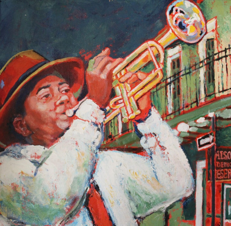 20th Century Judith Dazzio Painting For Sale