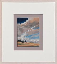 Dynamic Clouds and Fields - Alabama Landscape