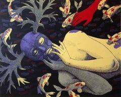 Eve Awakening, by Judithe Hernandez