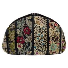 Judith Leiber Floral Patchwork Bag