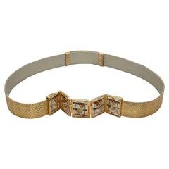 Judith Leiber Gold-Tone Belt
