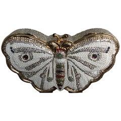 Judith Leiber Jeweled Butterfly Minaudière
