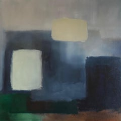 Judith North, Finding Space #9, Original Abstract Painting, Affordable Art