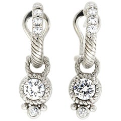 Judith Ripka Dangle Earrings