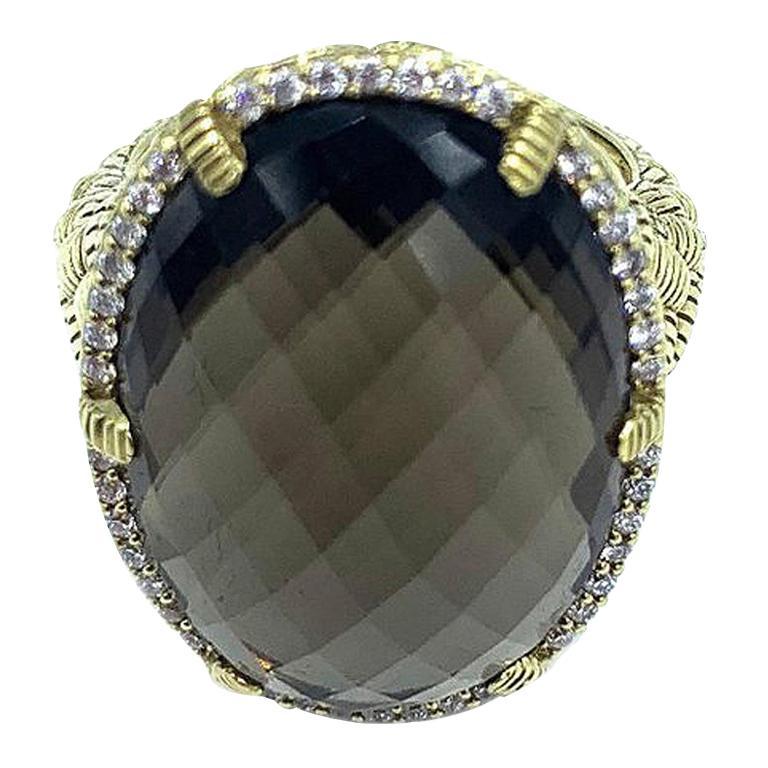 Judith Ripka Briolette Diamond Ring
