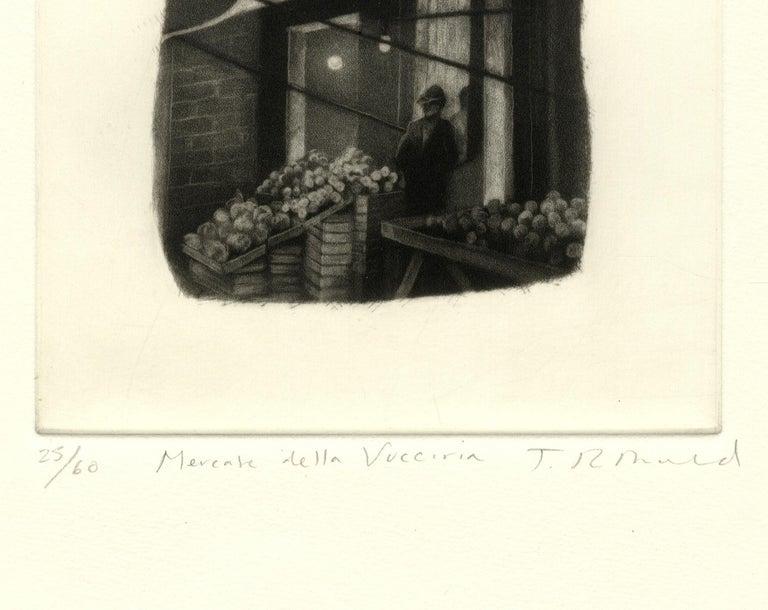 Mercata Delta Vucciria (Palermo, Italy) - American Modern Print by Judith Rothchild