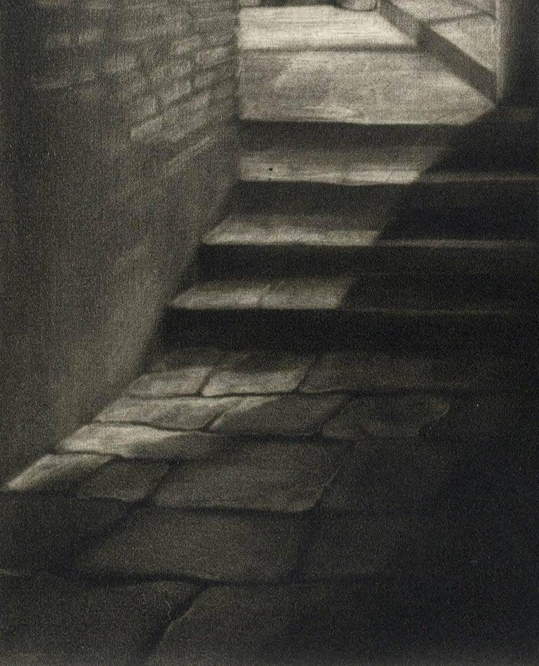 Soto Portego del Magzen (entryway in Venice, Italy) - Print by Judith Rothchild
