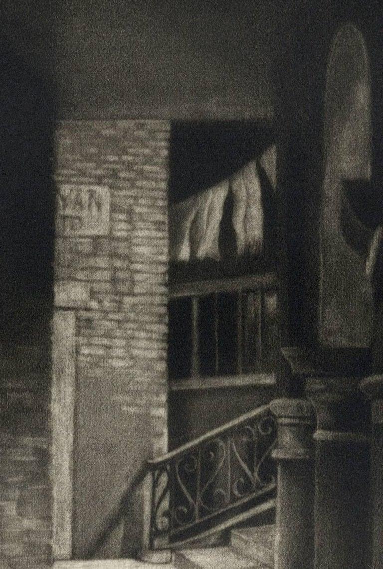 Soto Portego del Magzen (entryway in Venice, Italy) - American Modern Print by Judith Rothchild