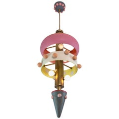 Judy, Brass, Hand-Sculpted, Contemporary Chandelier, Kalin Asenov