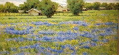 After the Rain, oil painting , TX Hill Country ,Impressionism ,SW Art Magazine