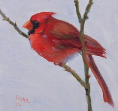 Flying High , oíl, Texas Bird Painting ,Impressionism ,SW Art, Texas Artist