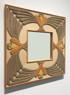 Mirror with Birds