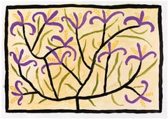 Tree with Purple Flowers