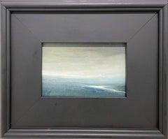 Olana Haze (Intimate Plein-air Landscape of Hudson River View on a hazy day)