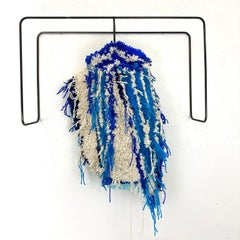 Textile Sculpture on Steel frame: 'Huckabpoo Dickey'