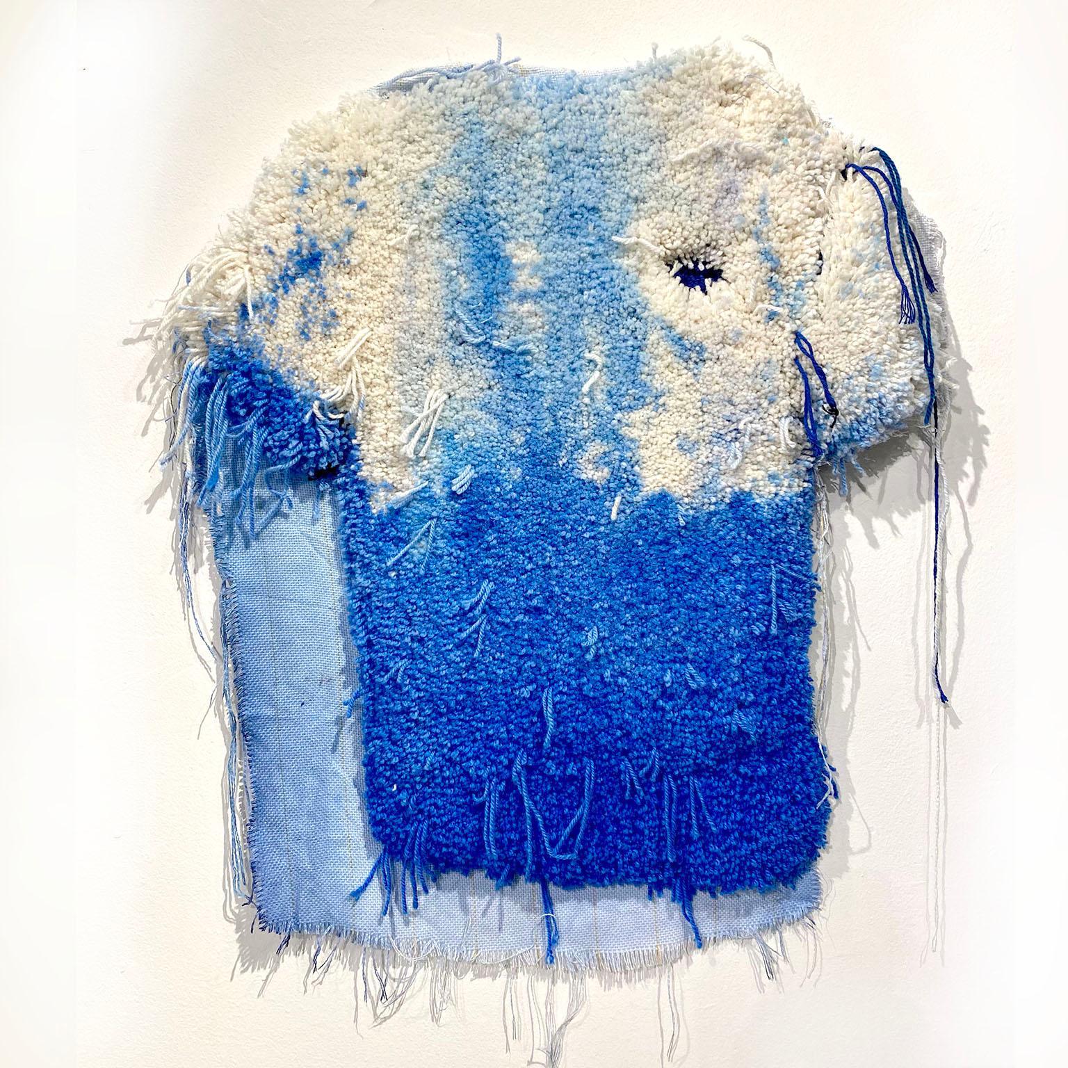 Textile Sculpture, Wall Hanging: 'T Shirt'