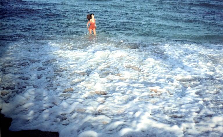 Juergen Teller Landscape Photograph - More No. 15, Stephanie in Sea, Miami, USA