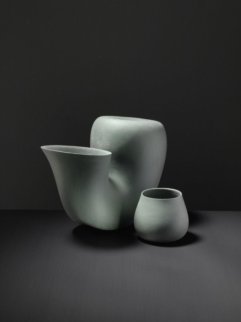 Jug and Cup by Aldo Bakker Courtesy of Particles In New Condition For Sale In New York, NY