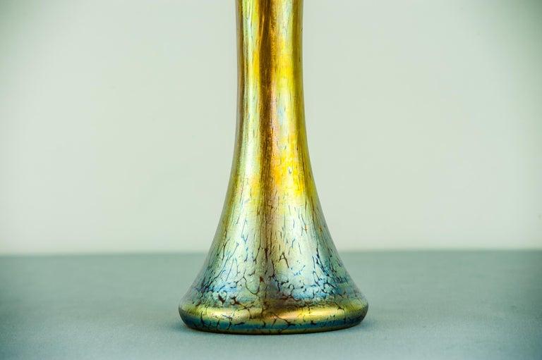 Austrian Jugendstil Loetz Vase, circa 1903 For Sale