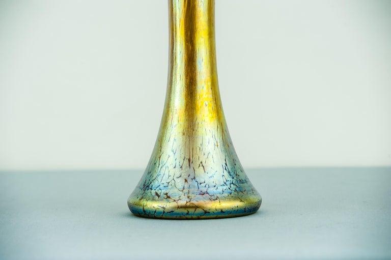 Jugendstil Loetz Vase, circa 1903 In Good Condition For Sale In Wien, AT