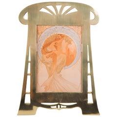 Jugendstil Picture Frame, circa 1910s
