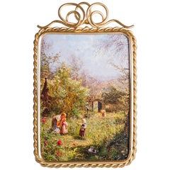 Jugendstil Picture Frame Fire Gilt, circa 1903