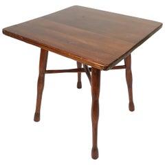 Jugendstil Side Table by Thonet, Signed and Stamped, 1900s