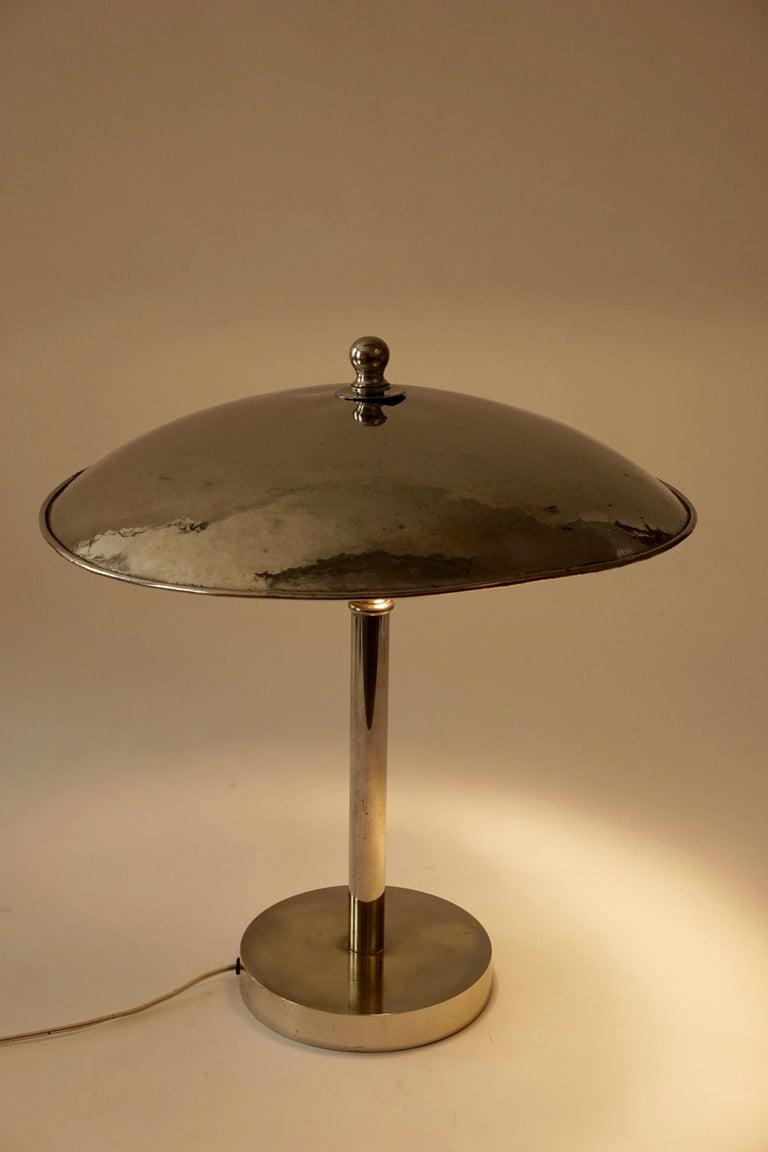 Jugendstil Table Lamp in Influences from Josef Hoffmann For Sale 4