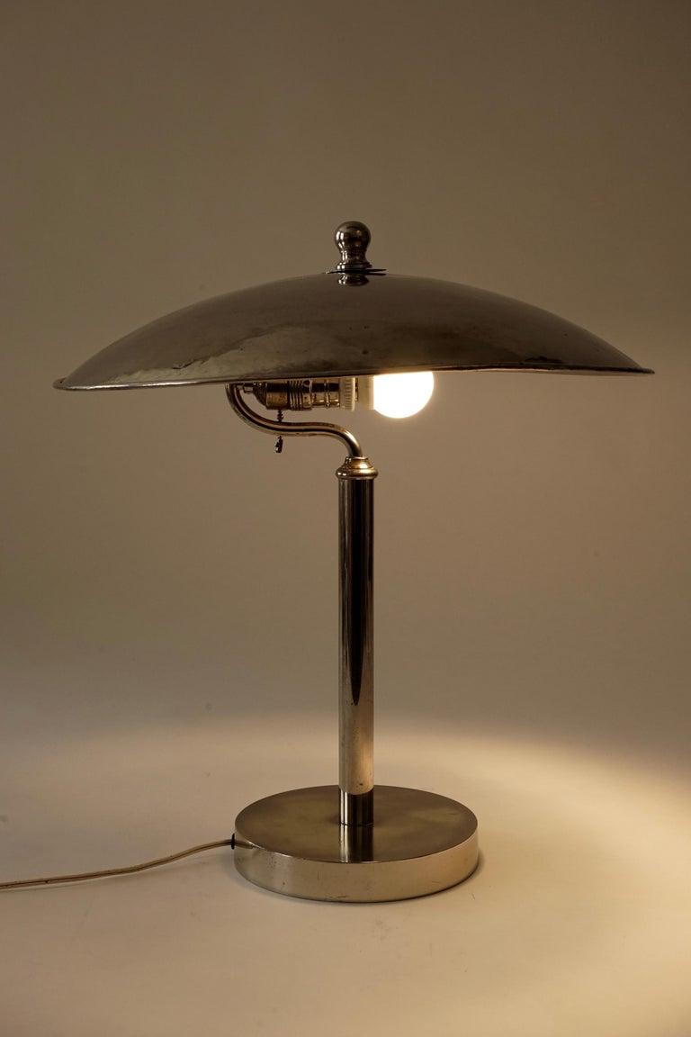 Jugendstil Table Lamp in Influences from Josef Hoffmann For Sale 5