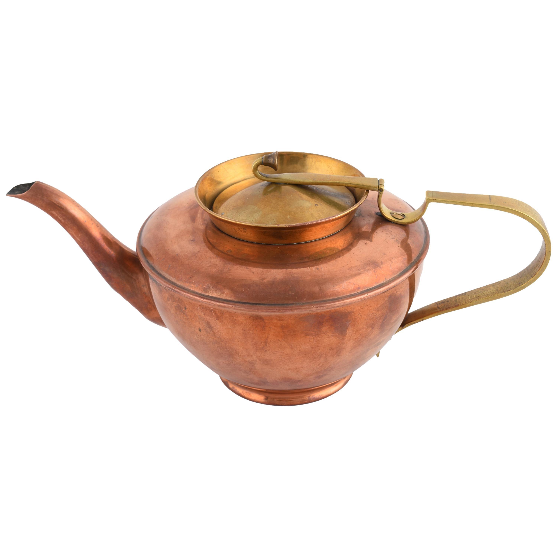 Jugendstil Teapot by WMF, Germany, 1910s