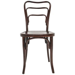 Jugendstil Vintage Bentwood Chair No 249 a by J. & J. Kohn, circa 1916, Austria