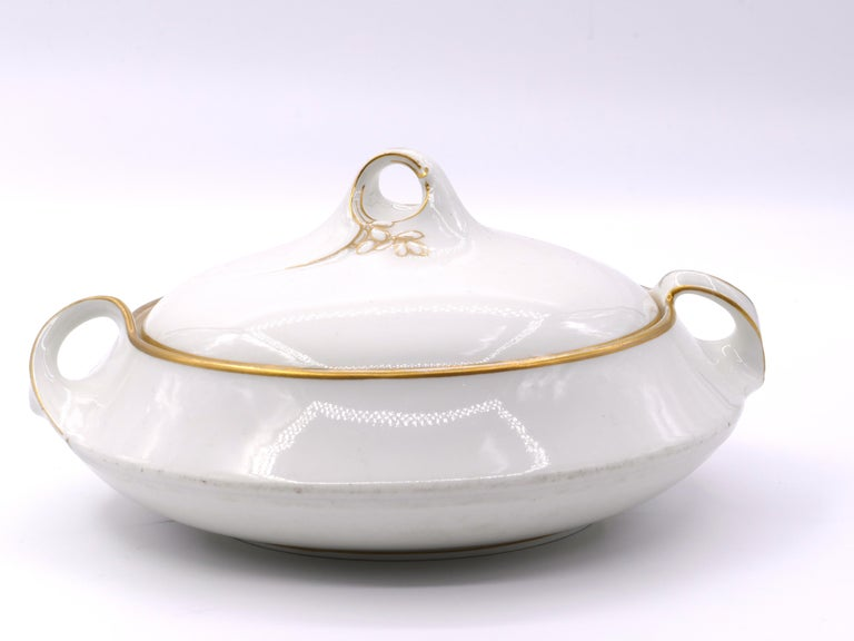 Jugendstil Jugenstil Porcelain Tureen by KPM Berlin, 20th Century For Sale