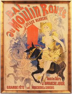 Bal au Moulin Rouge   (Poster, Belle Époque, Art Nouveau)