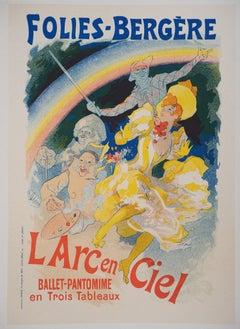 Folies-Bergère - Lithograph (Les Maîtres de l'Affiche), 1895