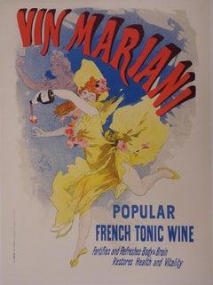 Mariani : French Tonic - Lithograph (Les Maîtres de l'Affiche), 1897