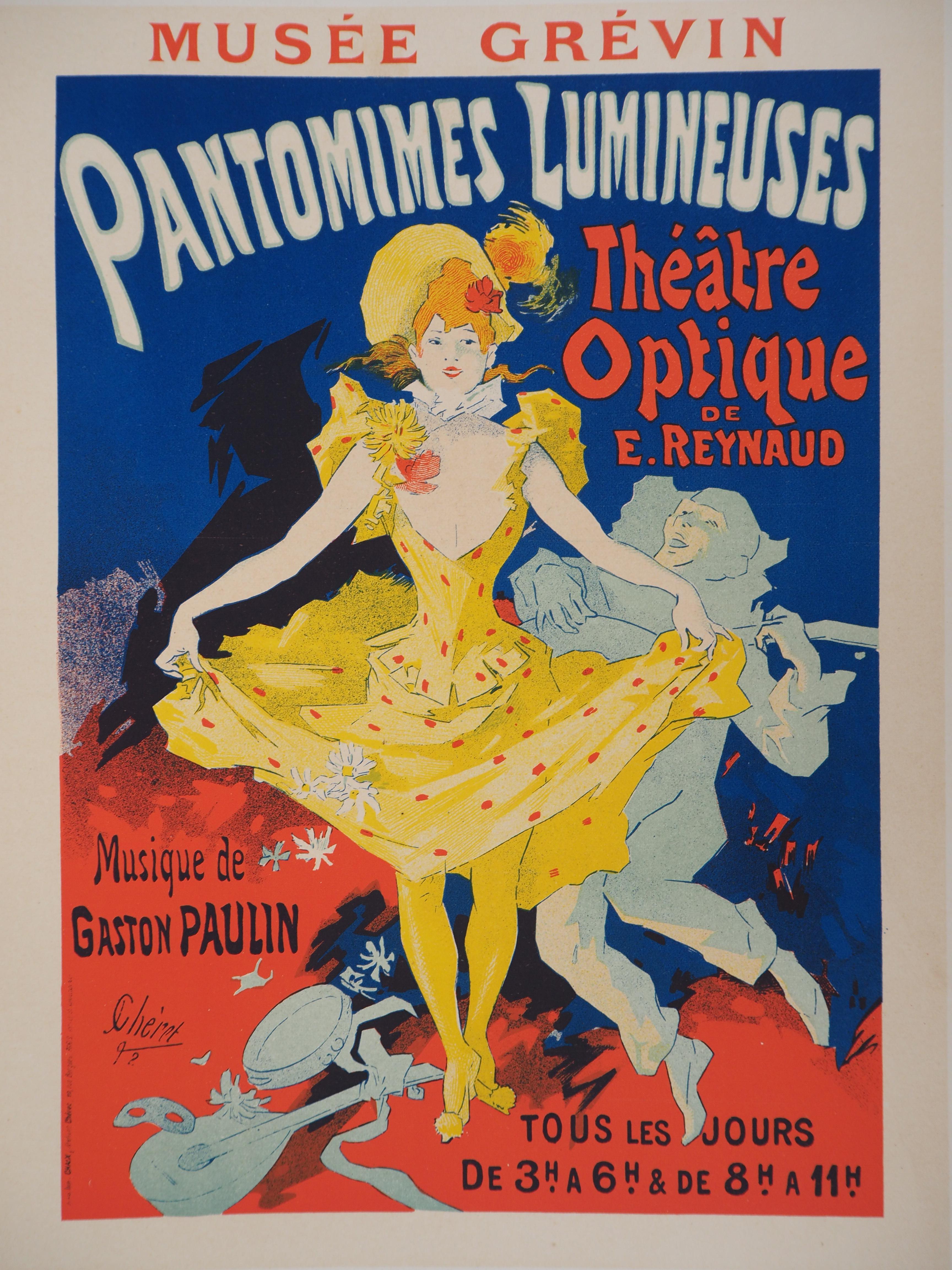 Musée Grévin : Dancer - Lithograph (Les Maîtres de l'Affiche), 1895