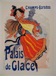Palais de Glace (Ice Palace) - Lithograph (Les Maîtres de l'Affiche), 1895